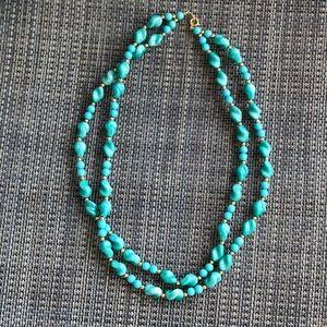 Vintage Trifari double strand necklace